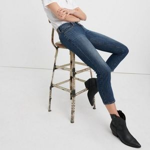 LUCKY BRAND   Sweet Crop Mid-Rise   4/27